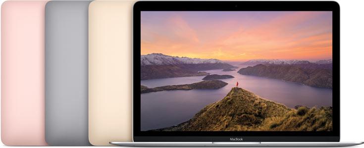 Обновленный ноутбук Apple MacBook доступен в новом цвете «розовое золото»