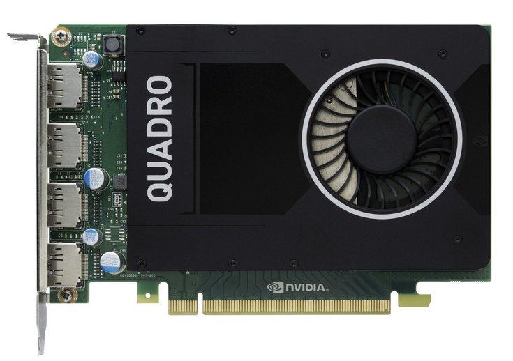 Видеокарта GeForce Quadro M2000 стоит 570 евро