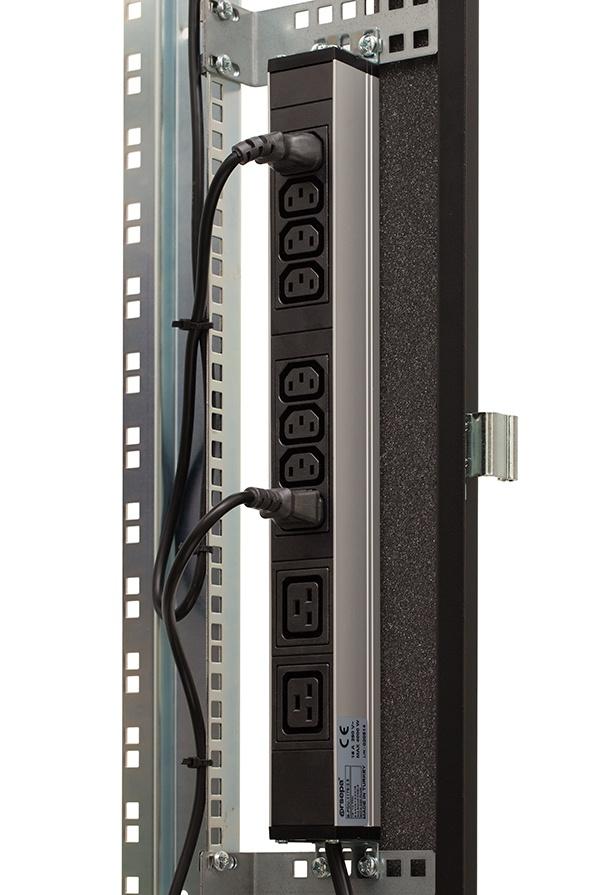 Серверный шкаф с интеллектуальным активным шумоподавлением - 17
