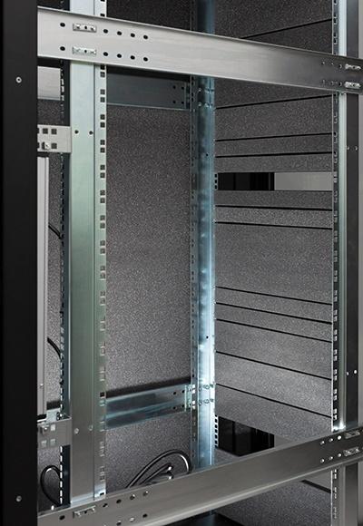 Серверный шкаф с интеллектуальным активным шумоподавлением - 9