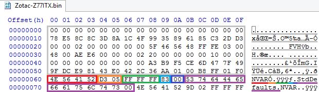 Устройство NVRAM в UEFI-совместимых прошивках, часть четвертая - 2