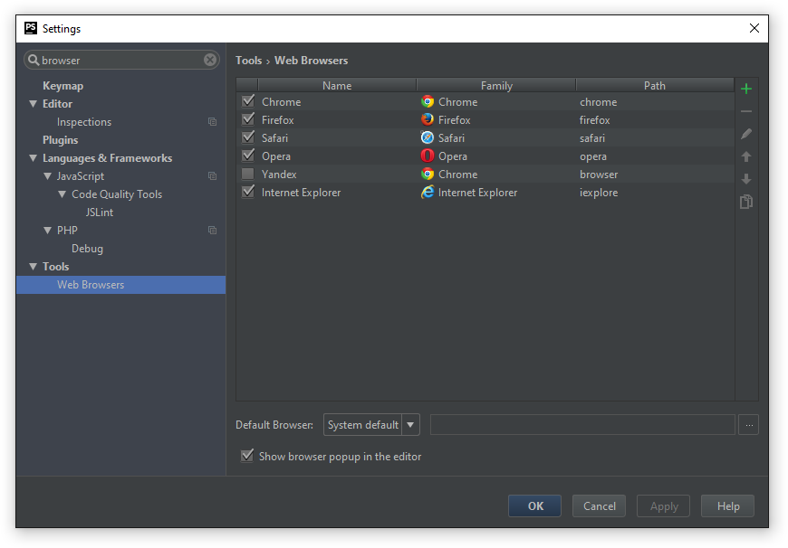 Настройка PhpStorm для вёрстки на ОС Windows - 35
