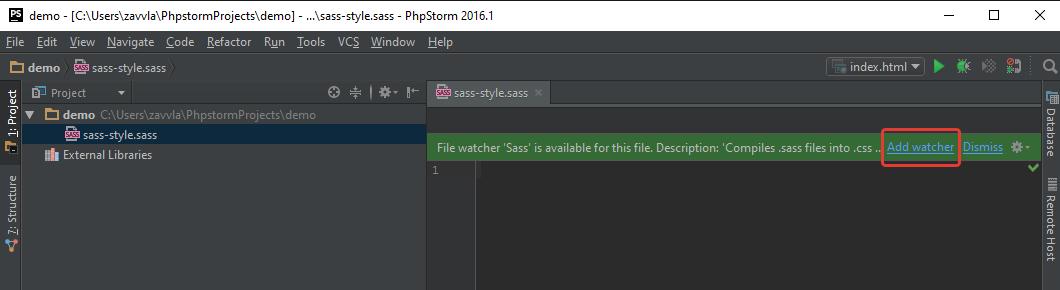 Настройка PhpStorm для вёрстки на ОС Windows - 66