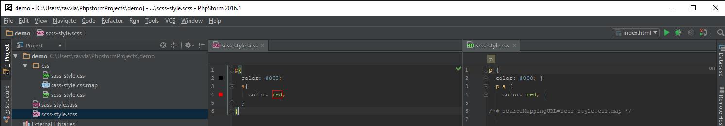 Настройка PhpStorm для вёрстки на ОС Windows - 76