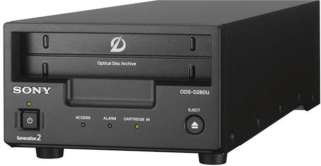 Представлена система архивного хранения Sony Optical Disc Archive второго поколения
