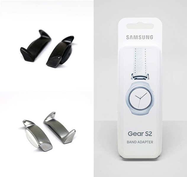 Переходник Gear S2 Band Adapter стоит 25 евро