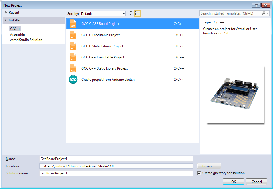 Программирование и отладка микроконтроллеров ARM Cortex-M4 фирмы Atmel в среде операционной системы Linux. Часть 2 - 2