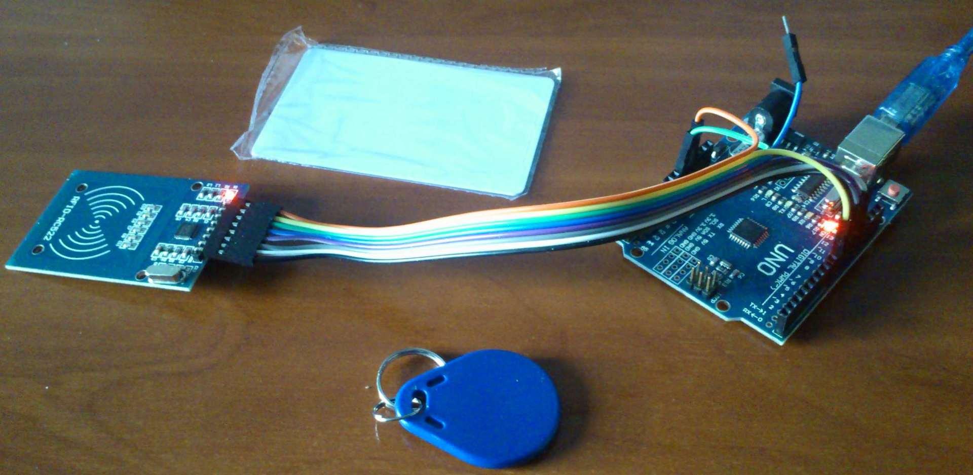 Аутентификация пользователей на Arduino с RFID - 3