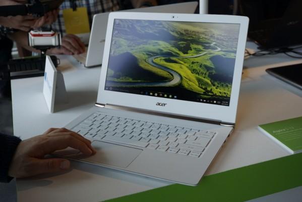 Ноутбук Acer Aspire S 13 проработает от одного заряда до 13 часов