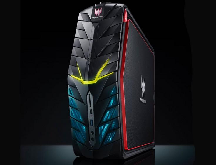 Acer Predator G1 стоит от $2300, а мониторы Predator Z1 от $600
