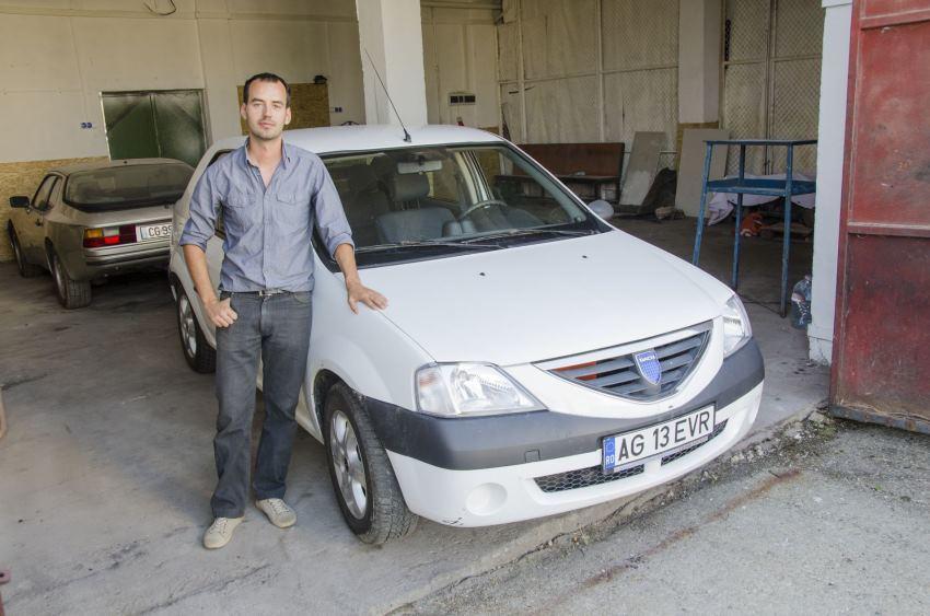 Умелец из Франции создал собственный электромобиль на базе Dacia Logan - 1