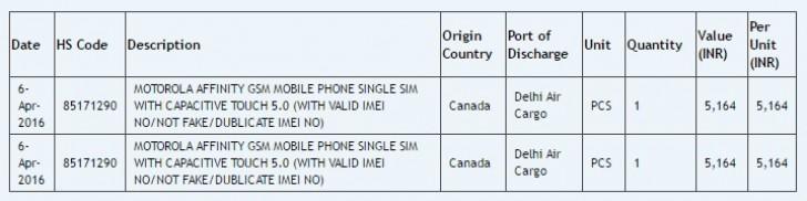 Пока официальные сведения о Motorola Affinity крайне скудны