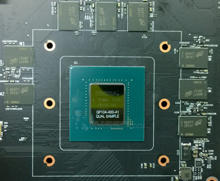 По предварительным данным, GeForce GTX 1070 будет стоить примерно $620, GeForce GTX 1080 — $870