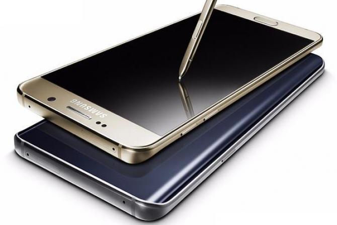 Смартфон Samsung Galaxy Note 6 может получить изогнутый дисплей и аккумулятор емкостью 4000 мА•ч