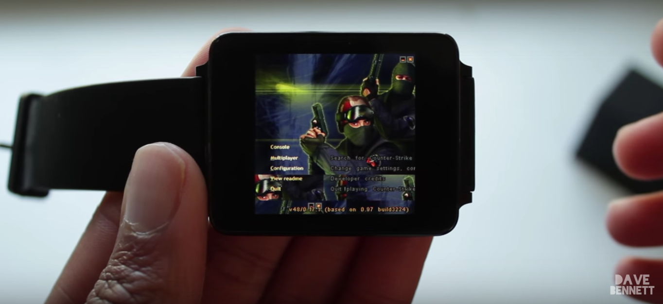 Counter Strike запустили на Android Wear - 1