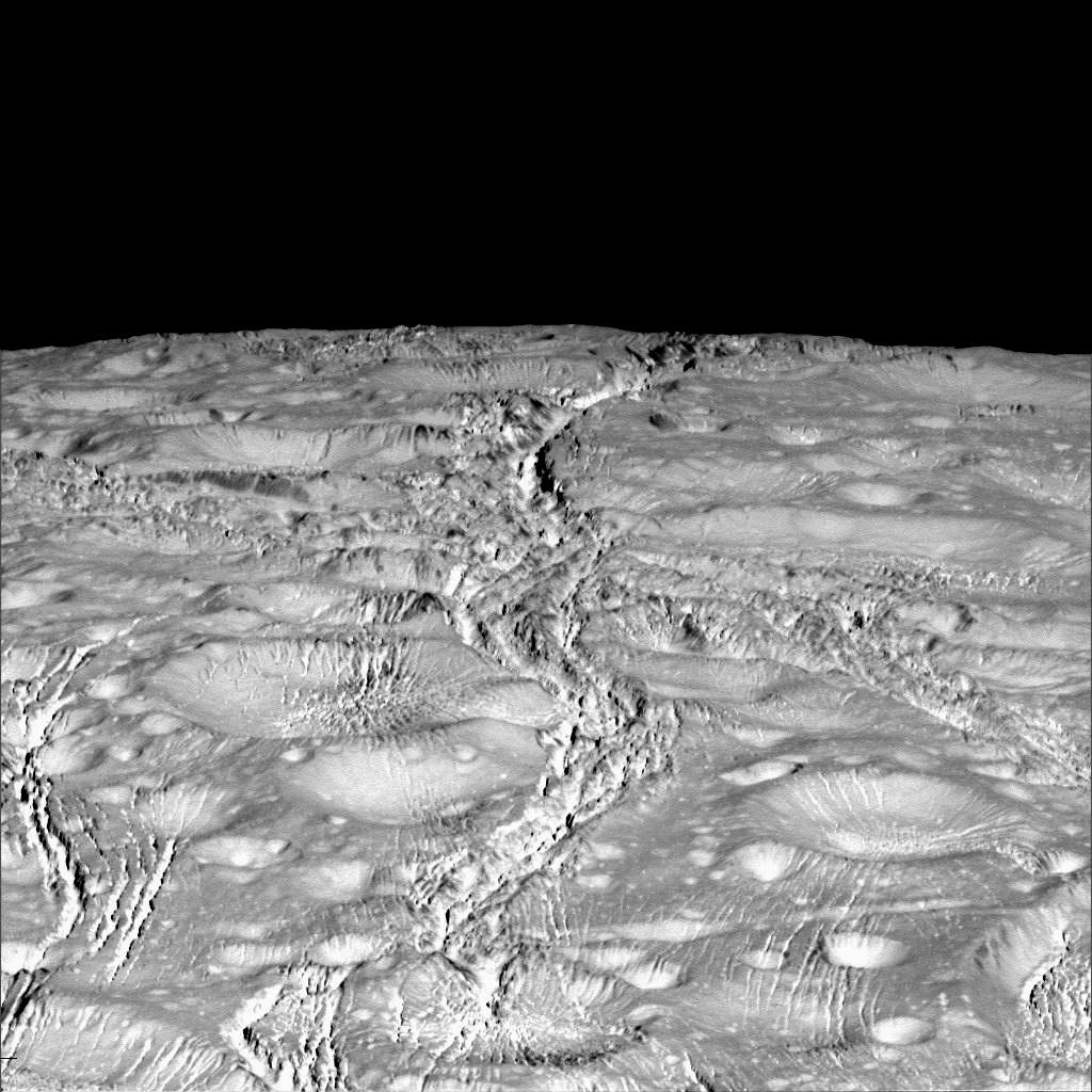 NASA анализирует возможные способы изучения подледных океанов Европы и Энцелада - 1