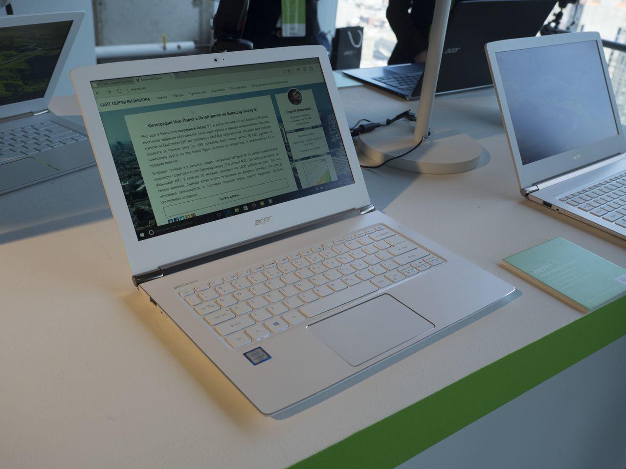 Next@Acer: Самый мощный игровой ноутбук с воздушным охлаждением, велокомпьютер, Chromebook для работы и другие новинки - 43