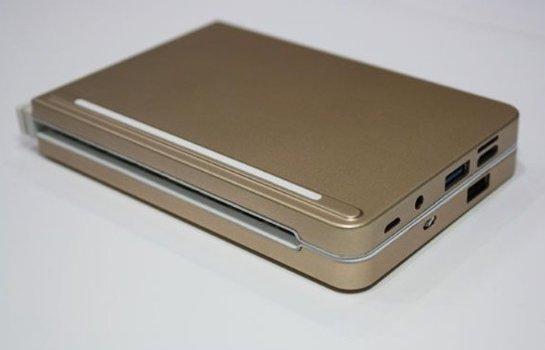 Pipo анонсировала уникальный компьютер в форм-факторе складной клавиатуры