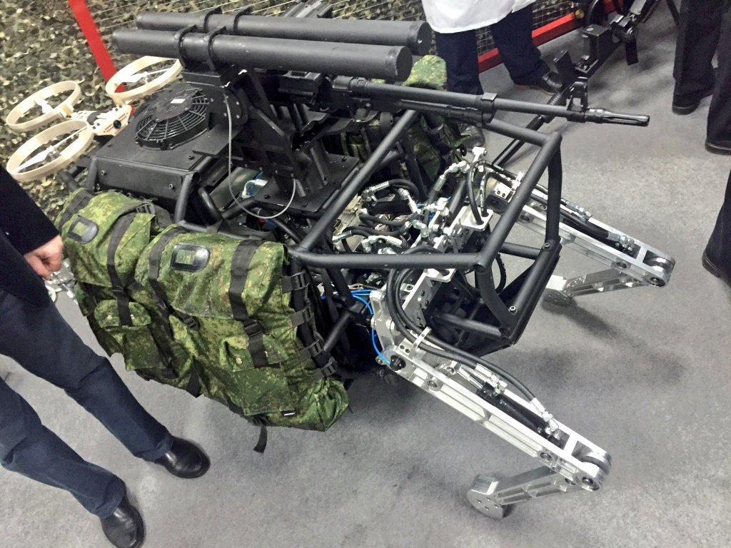 Опубликованы фото новейших российских роботов «Рысь-БП» и «Аватар» - 5