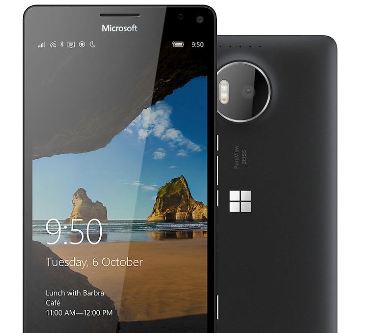 Цена с мартфона Microsoft Lumia 950 лишь на $100 меньше цены Lumia 950 XL