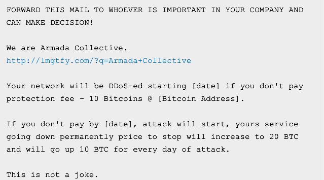 За два месяца DDoS-вымогателям, которые на самом деле никого не ддосят, выплатили $100000 «отступных» - 2