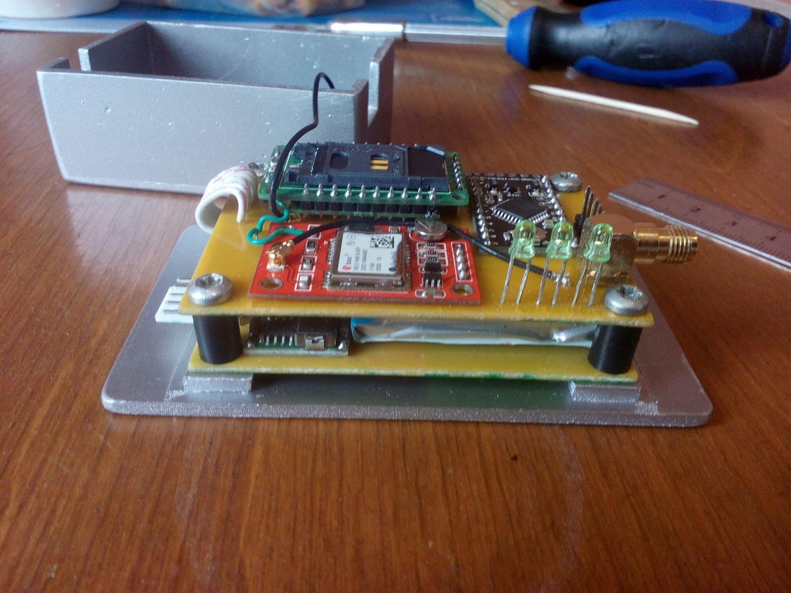 GPS трекер для автомобиля своими руками - 8