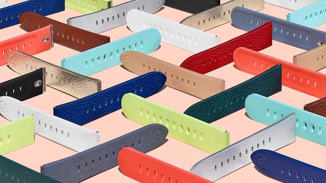 Google выпустила сменные ремешки для часов под названием Mode