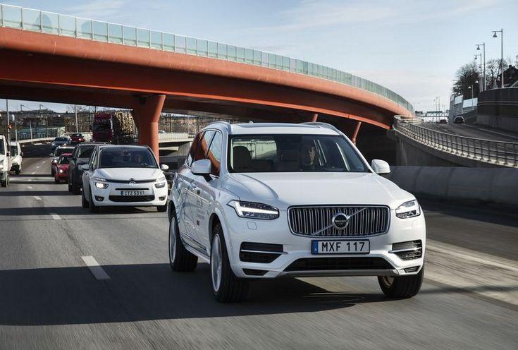 Volvo намерена испытывать беспилотные машины на обычных людях