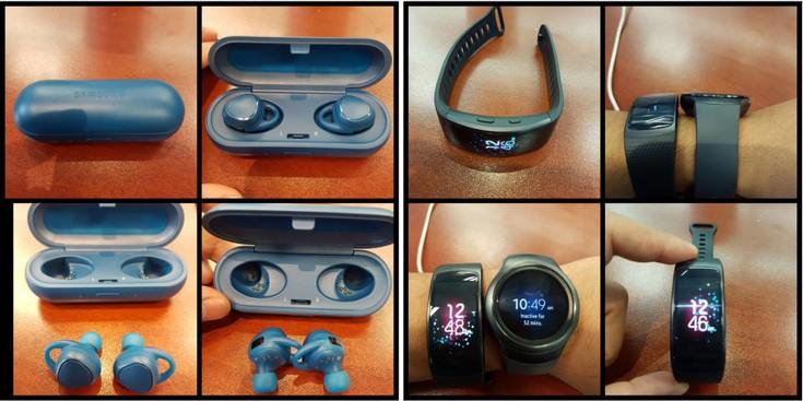 Samsung готовит браслет Gear Fit 2 и наушники Gear IconX