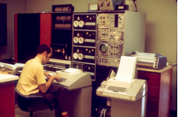 Мини-компьютеры компании DEC — семейство PDP - 17