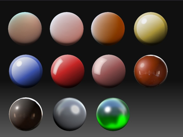 Рендеринг капли с прозрачностью и отражениями на OpenGL - 11
