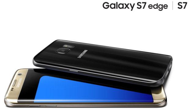 Представлены смартфоны Samsung Galaxy S7 и Galaxy S7 edge