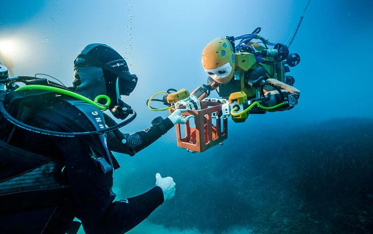 OceanOne принимает участие в экспедиции к затонувшему судну La Lune