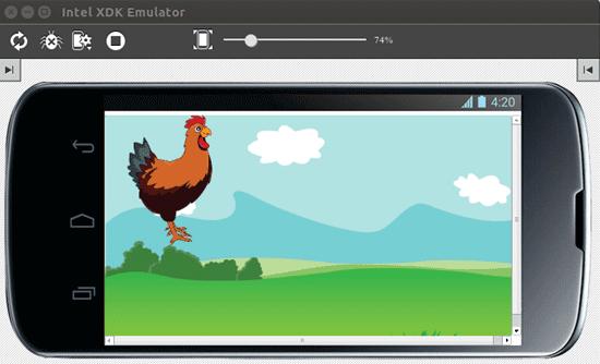 Создаём игру для самых маленьких на Phaser в Intel XDK - 6