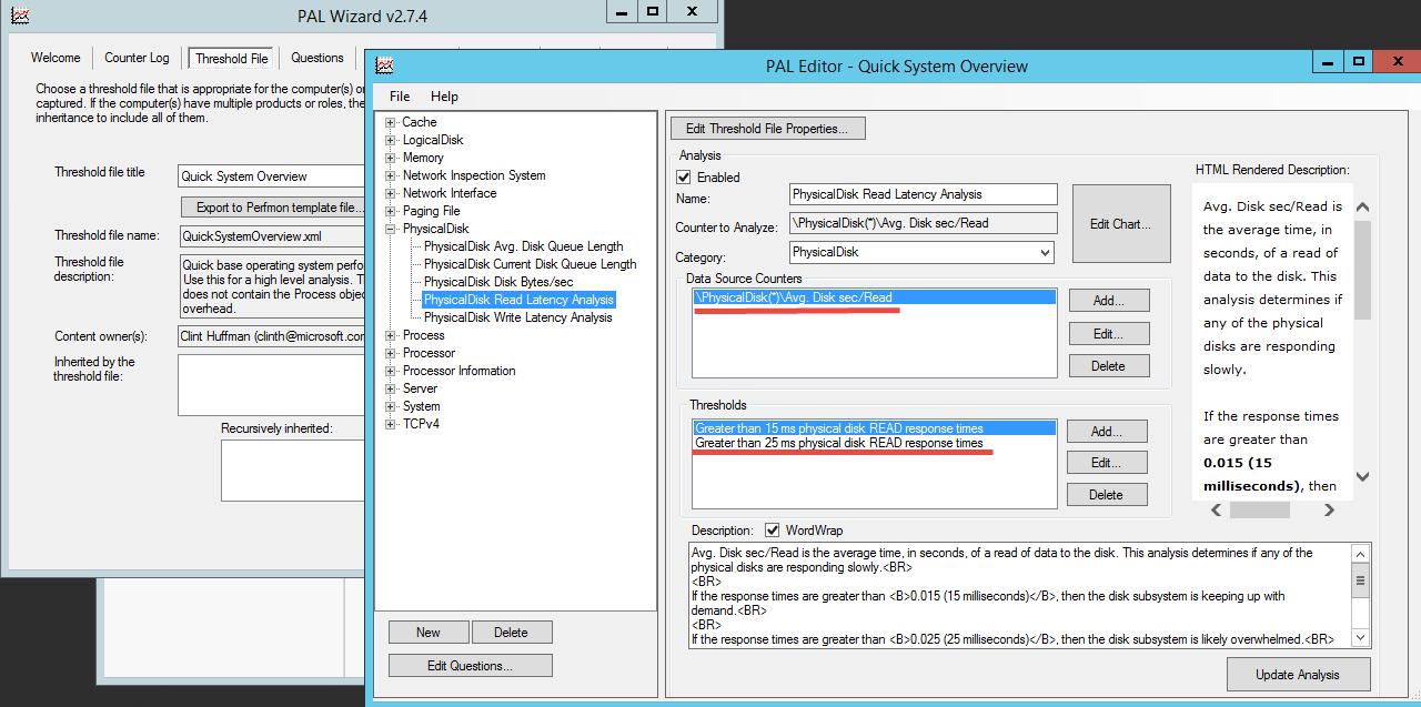 Анализ производительности Windows с использованием возможностей ОС и утилиты PAL - 15