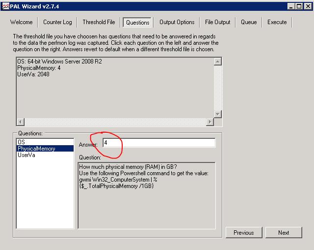 Анализ производительности Windows с использованием возможностей ОС и утилиты PAL - 16