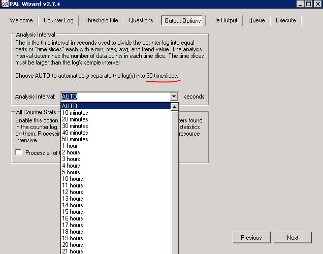 Анализ производительности Windows с использованием возможностей ОС и утилиты PAL - 17