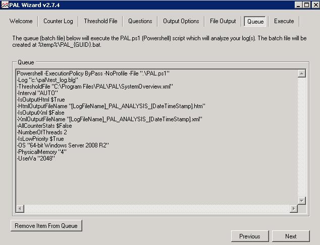 Анализ производительности Windows с использованием возможностей ОС и утилиты PAL - 19