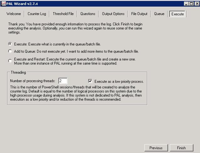 Анализ производительности Windows с использованием возможностей ОС и утилиты PAL - 20