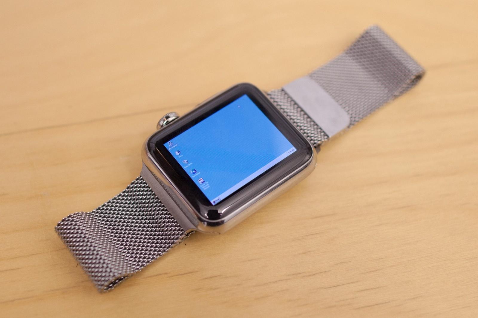 Windows 95 запустили на Apple Watch - 1