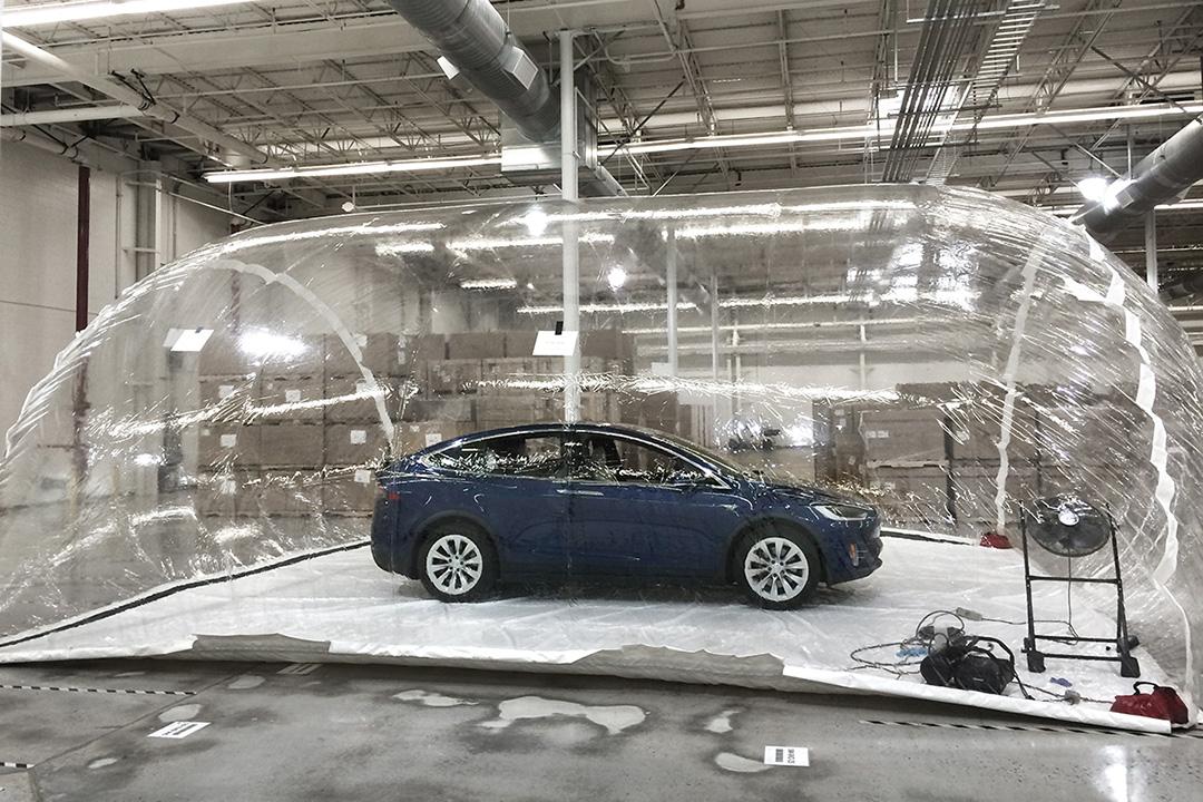 Новый фильтр способен спасти владельца Model X в случае применения биологического оружия - 1