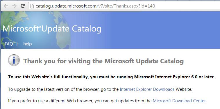 Обновления безопасности Windows можно будет скачать только браузером Internet Explorer - 1