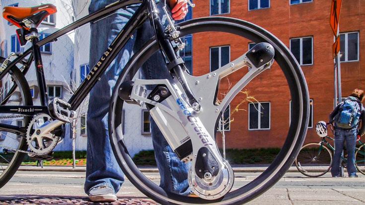На выпуск моторизованного колеса GeoOrbital собрано более $300 000