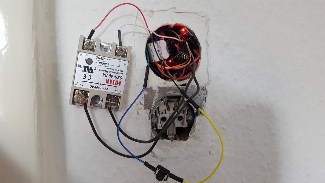 Умный WiFi выключатель света - 4
