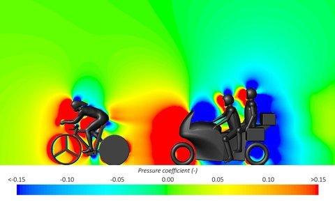 Велогонщики получают нечестное преимущество от мотоцикла сзади - 4