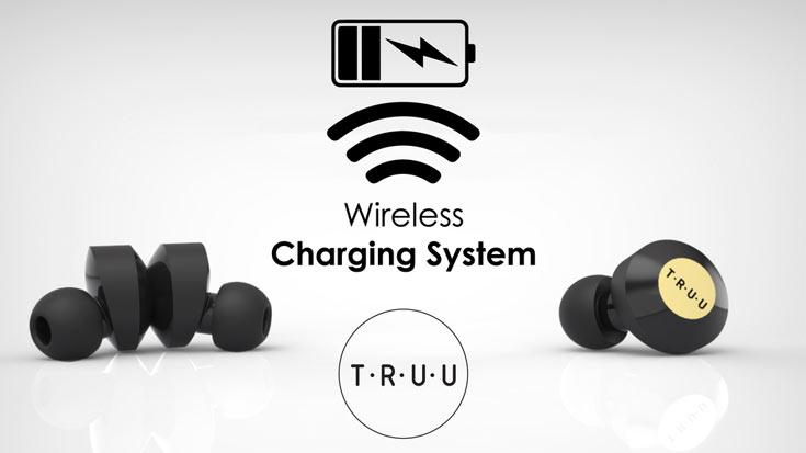 К источнику звука наушники Truu подключаются по интерфейсу Bluetooth 4.1