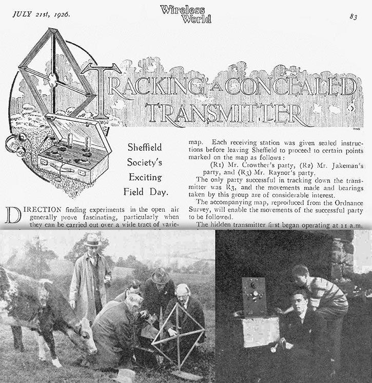 Ретро. Ко дню Радио — «Охота на лис», 1957 год - 4