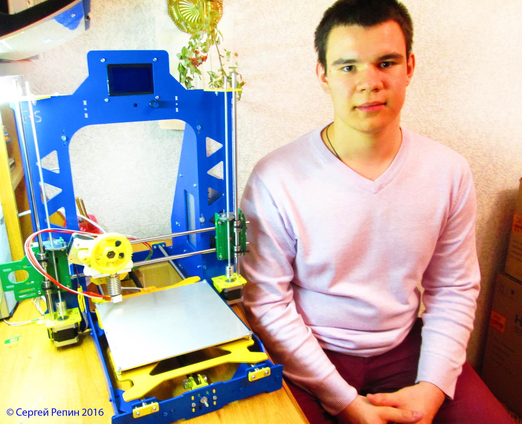Создание 3D принтера юным инженером — каково это? - 6
