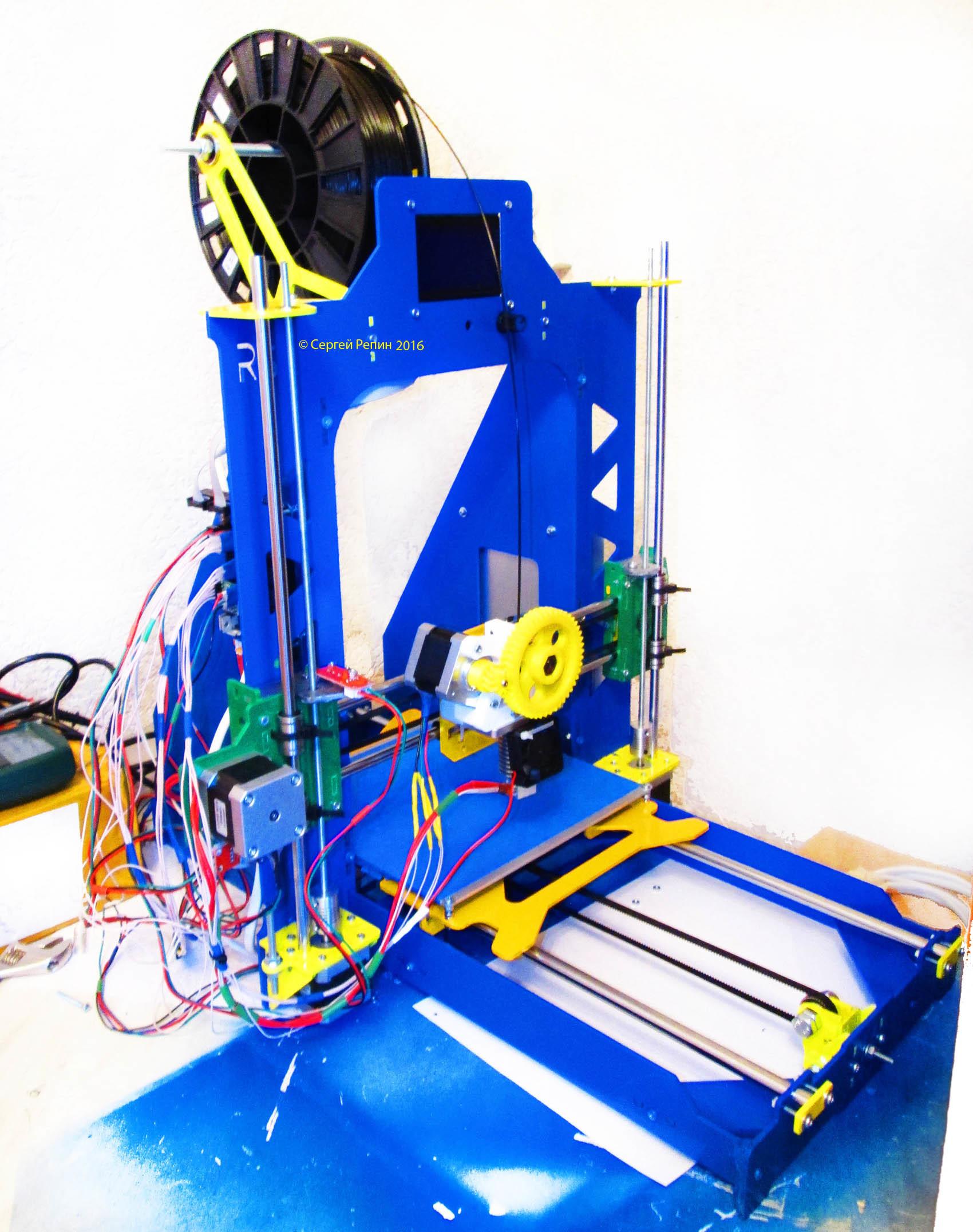 Создание 3D принтера юным инженером — каково это? - 1