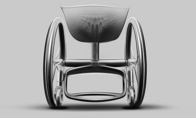 Инвалидная коляска, напечатанная на 3D-принтере, создается под конкретного пользователя